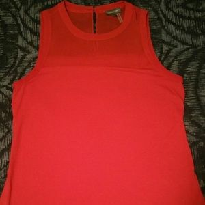 Red Vince Camuto sleeveless tank top size XS